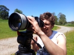 Chris with the 300mm