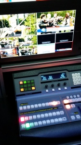 Blackmagic Design ATEM control with their Multiview monitor